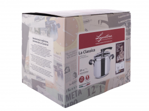 LAGOSTINA Pressure Cooker The Classic With Basket 7 l Exclusive Italian Design