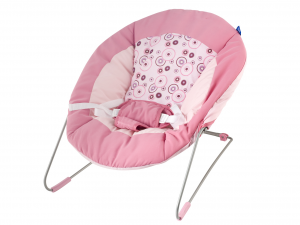 LULABI Bouncer Rebecca Pink Bedroom Baby Exclusive Brand Design Made in Italy