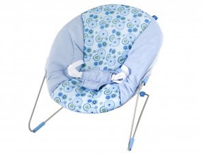 LULABI Bouncer Filippo Blue Colored Nursery Baby Exclusive Design Italian Style