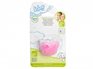 LULABI Set 12 Orthodontic Silicone Pacifiers Female 3M Bedroom Baby  Italy
