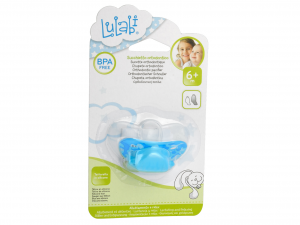 LULABI Set 12 Orthodontic Silicone Pacifiers Male 6M Bedroom Baby  Italy
