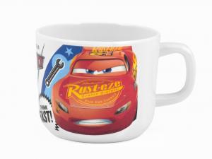 LULABI Pack 6 Cups Melamine Disney Cars3 220 Cc Exclusive Italian Design Brand