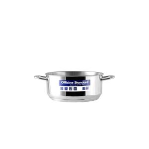 OFFICINE STANDARD Italian Stainless steel bottom pan Sara 2 handles 12 Cookware