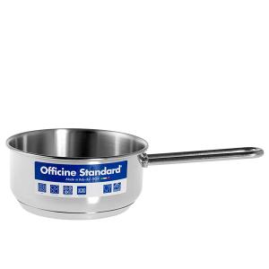 OFFICINE STANDARD Italian Steel saucepan stand down Sara handle 16 Cookware