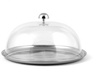 OFFICINE STANDARD plate with dome 27 cm h14 Dishes Exclusive Italian Design