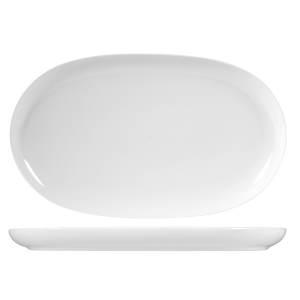 OFFICINE STANDARD Oslo porcelain oval dish cm 33 Dishes Exclusive Italian Design