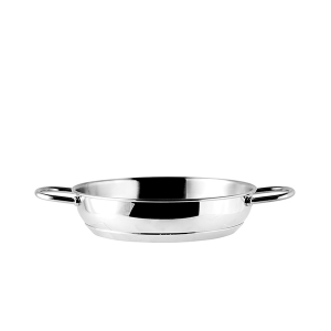 OFFICINE STANDARD Pan stainless Sara two handles 22 Cookware Top Italian Brand