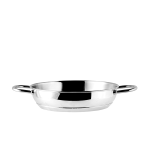 OFFICINE STANDARD Pan stainless Sara two handles 24 Cookware Top Italian Brand