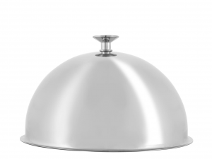 PINTI INOX Stainless Steel Cloche 24mm Semispheric Exclusive Italian Design