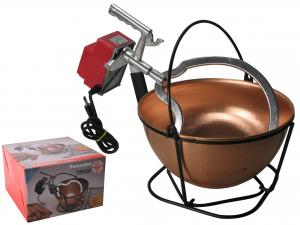 POLENTINA Electrical copper pot automatic polenta CM26 LT5 Top Italian Style
