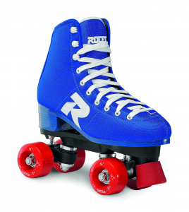 ROCES Italian Roller Skates Quad 52 Blue Star For Figure Skating Pvc 550062_001