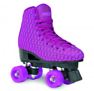ROCES Italian Roller Skates Quad Mania Pink Purple For Figure Skating Pvc 550060_001