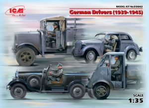 German Drivers (1939-1945) (4 figures)