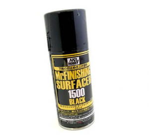 MR. FINISHING SURFACER ACER 1500 -  - PRIMER  ULTRA FINE COLORE NERO