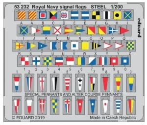 Royal Navy signal flags