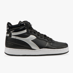 SNEAKERS DIADORA PLAYGROUND HIGH WN C0787 BLACK/SILVER