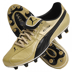 SCARPE CALCIO PUMA LIGA XL I FG 101595 03 MEGA GOLD-BLACK-WHITE