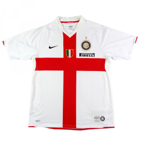 2007-08 Inter Centenario Maglia Away L (Top)