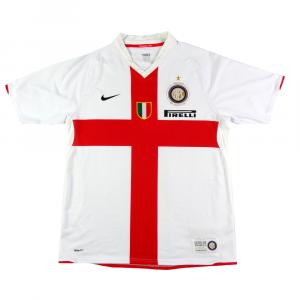 2007-08 Inter Centenario Maglia Away L (Top)