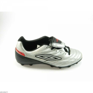 SCARPE CALCIO UMBRO SIGNATURE FG 879390/E25 SILVER/BLACK/RED