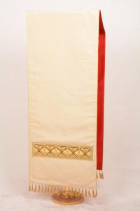 Copri Ambone 154 MF Croce Greca - Bianco - 50 x 260 cm