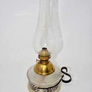 Lampada Olio Base Vetro