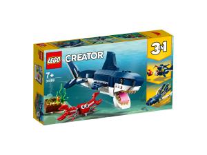 LEGO CREATOR CREATURE DEGLI ABISSI 31088