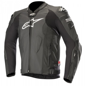 GIACCA IN PELLE ALPINESTARS MISSILE BLACK COD. 3100118