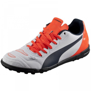 SCARPE PUMA EVO POWER 4.2 TT GR 103231 04 EHITE/ORANGE/BLACK