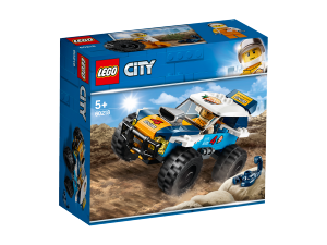 LEGO CITY AUTO DA RALLY DEL DESERTO 60218