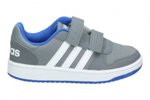 SNEAKERS ADIDAS HOOPS 2.0 CMF C GREY/FTWWHT/BLUE B75959