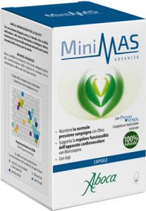 MINIMAS ADVANCED - INTEGRATORE NATURALE CON BIANCOSPINO, OLIVO E GOJI
