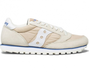 SAUCONY JAZZ LOWPRO TAN/WHITE S1866-245
