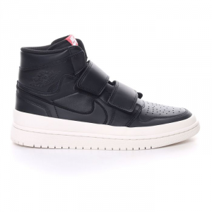 SNEAKERS AIR JORDAN 1 RE HI DOUBLE STRP BLACK/GYM RED-SAIL AQ7924001