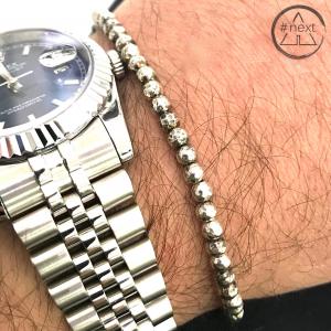 Dandy Street - Bracciale pepite in argento Ag925