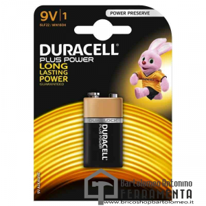 Duracell Plus Power Transistor (9V) 1604