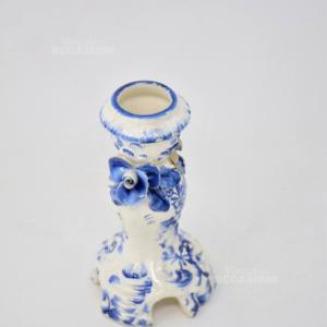 Porta Candela Ceramica