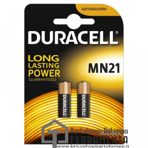 Duracell MN21 12 Volt Apricancello/macchina