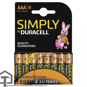 Duracell Simply Ministilo AAA x 8pz