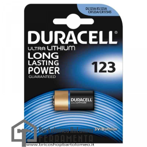 Duracell Litio 123 Ultra M3 Foto