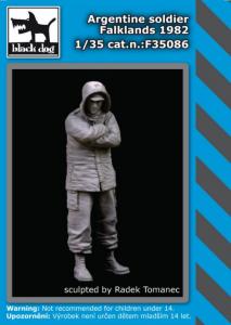 Argentine soldier Falklands 1982