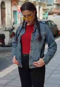 Giubbotto in Jeans vintage ANNI 80 by ROY ROGERS OVERSIZE REMAKE