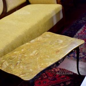 Tavolino Base Marmo