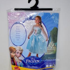 Costume Carnevale Frozen Anni 7-8