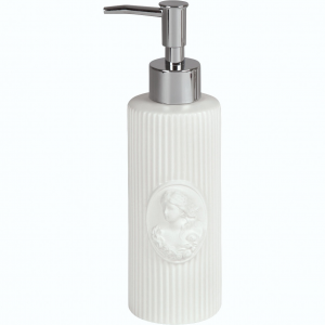 Distributore di sapone, in ceramica,  Linea Marquise di Mathilde M.