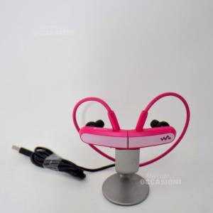 Cuffie Mp3 Sony Rosa No Filo