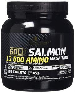 GOLD SALMON AMINO - PROTEINE DEL SALMONE DEL NORD ATLANTICO IN TAVOLETTE - 300cps