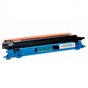 Toner Compatibile con Brother TN135 Ciano