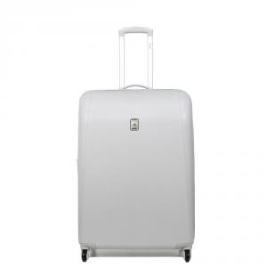 Delsey - Extendo 3 - Trolley da cabina Ryanair 55 cm 4 ruote TSA rigido argento cod. 0620800