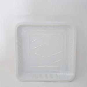 Pirofila Ceramica Bianca Grande